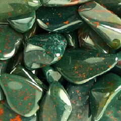 Bloodstone Polished Tumbles