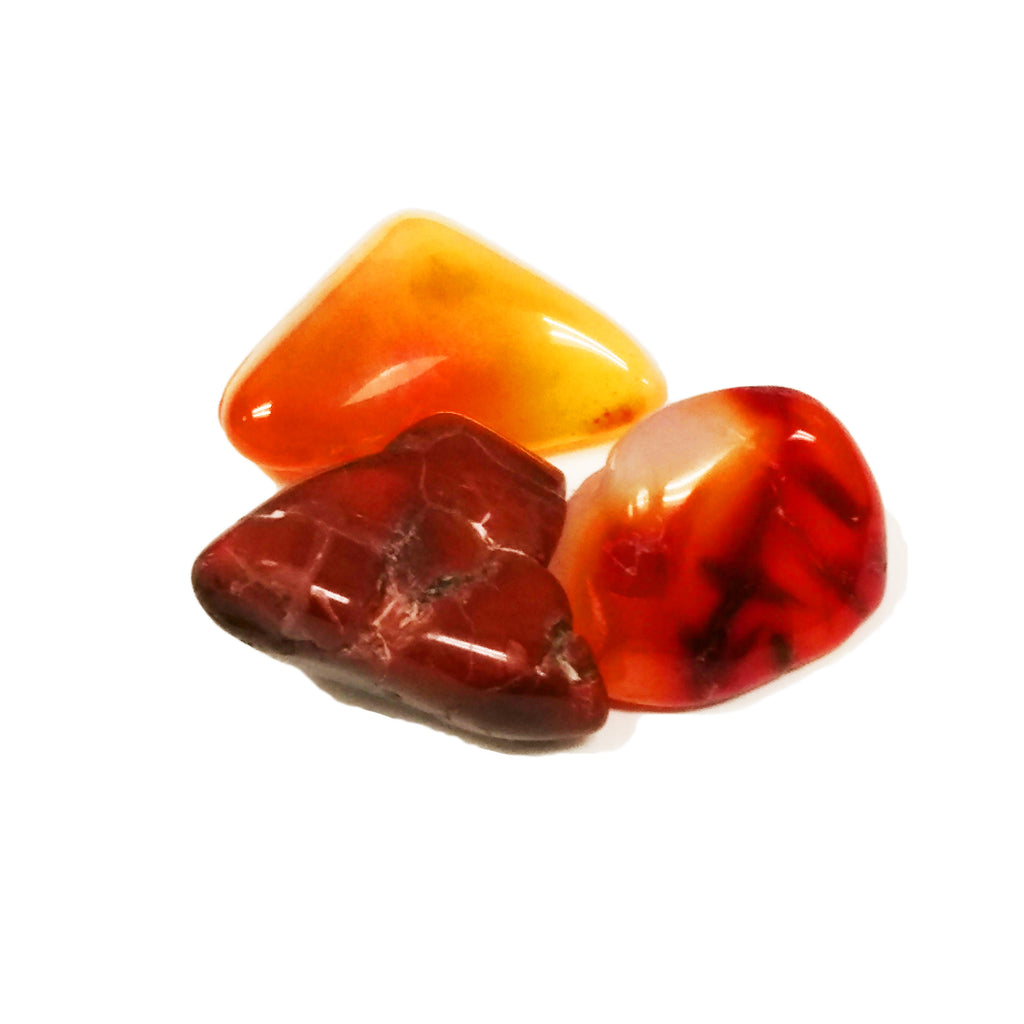 Carnelian for motivation, creativity, comfort, energy - Body Mind & Soul