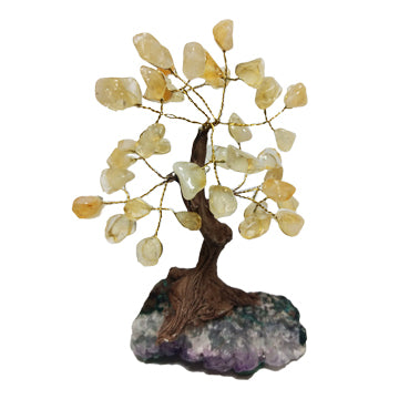 Citrine Crystal Bonsai Tree
