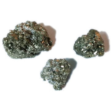 Cocada Pyrite Clusters for confidence & creating a life of intention