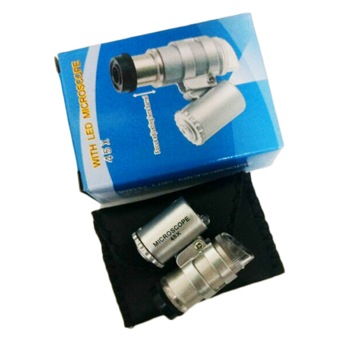 Crystal Pocket Microscope
