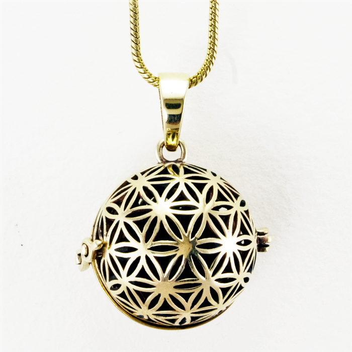 Flower of Life Diffuser Necklace