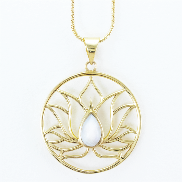 Lotus Inspiration Necklace
