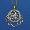 Lotus Seed of Life Necklace