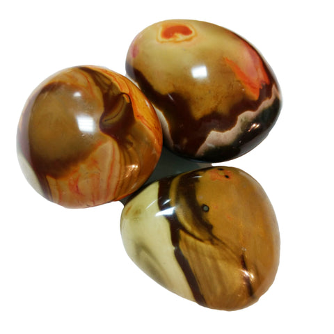 Desert Jasper Palm Stones for balance & peace