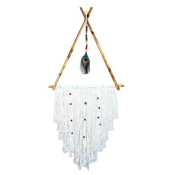 Peacock Tee Pee Dreamcatcher - Body Mind & Soul