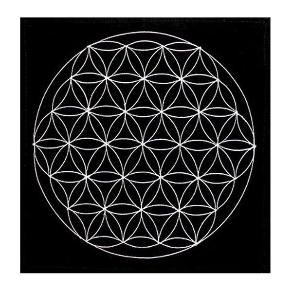 Flower of Life Crystal Mat