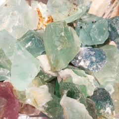 Fluorite Rough Pieces