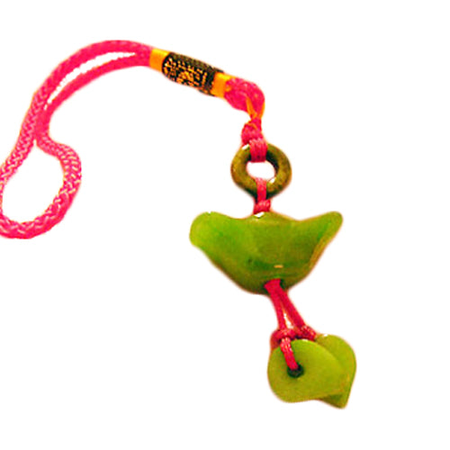 Great Wealth Feng Shui Jade Charm