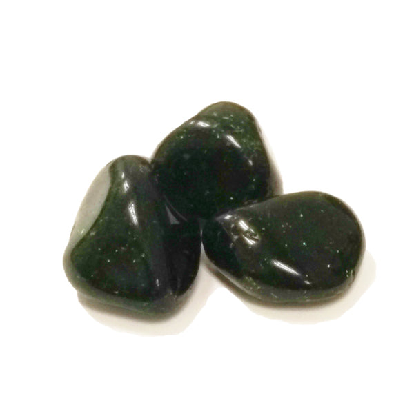 Goldstone Green for emotional healing, reducing pain