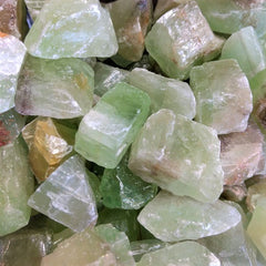 Green Calcite for emotional release and balance, self love