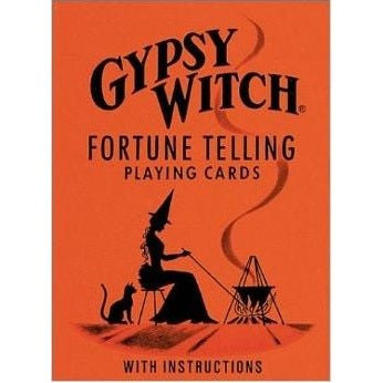 Gypsy Witch Fortune Telling Playing Cards - Body Mind & Soul