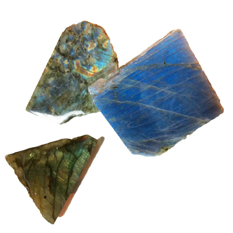 Labradorite Freeforms for psychic shielding & hope