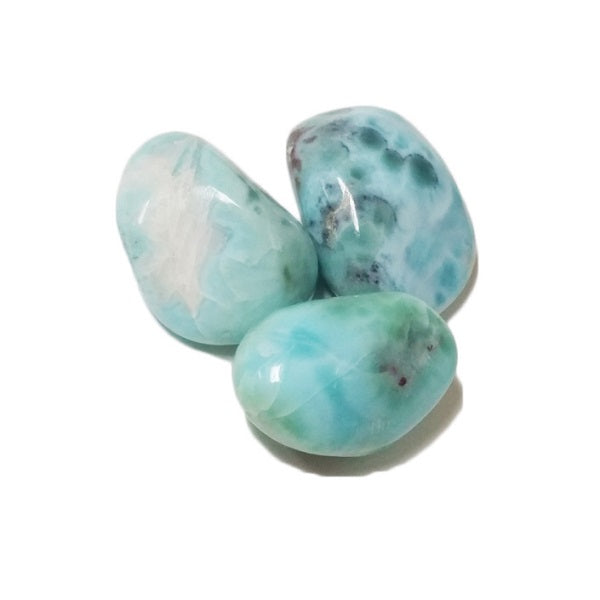 Larimar for soothing fears, releasing anger, relieving stress