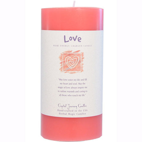 """Love"" Intention Candles"