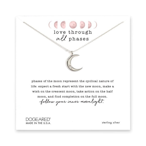 Love Through All Phases Necklace
