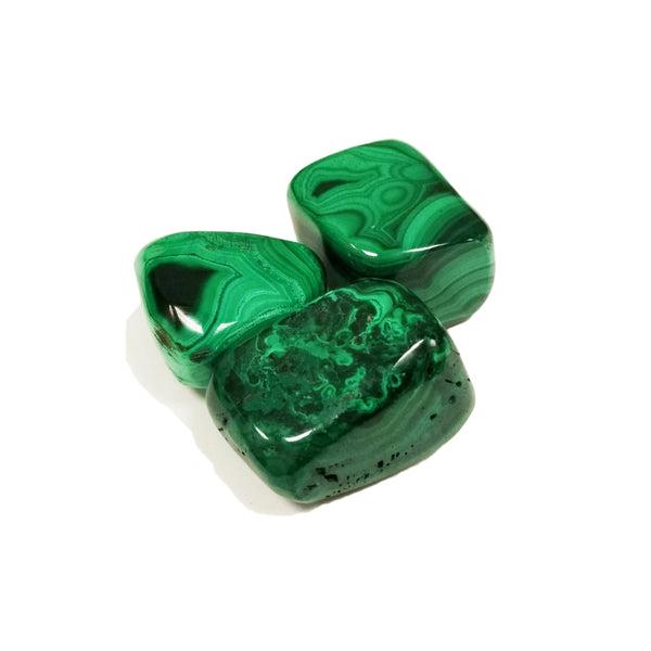 Malachite for emotional release, growth, clearing blocks - Body Mind & Soul