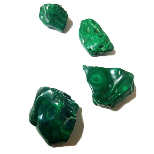 Malachite Freeforms for emotional release, growth, clearing blocks