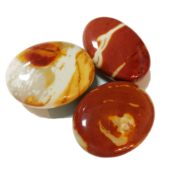 Mookaite Palm Stones for ancestor connection & healing
