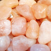Morganite for attuning the heart chakra, abundant love - Body Mind & Soul