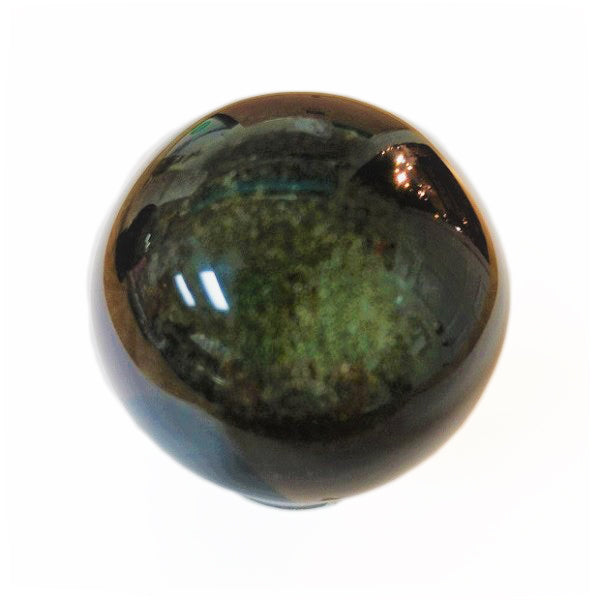 Gold Sheen Obsidian Sphere for protection & blockages