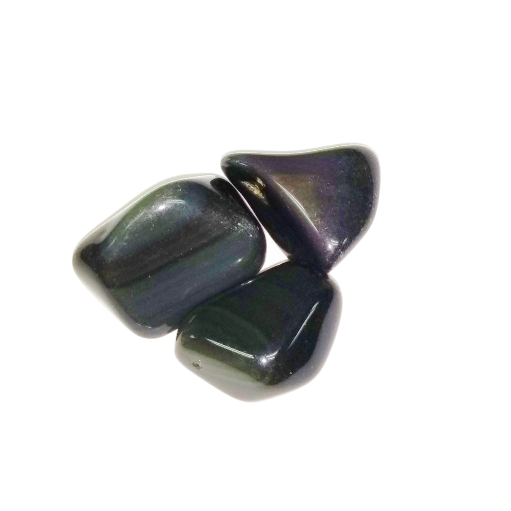 Rainbow Obsidian for pleasure, protection, dissolving barriers