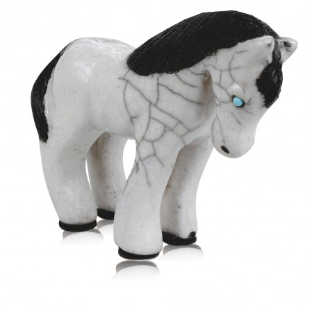 Spirit Friends Raku Pony - Body Mind & Soul