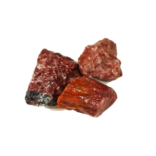 Red Calcite for grounding, strengthening, detoxifying - Body Mind & Soul