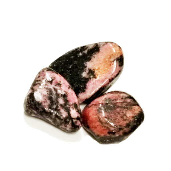 Rhodonite for compassion, generosity, healing the heart