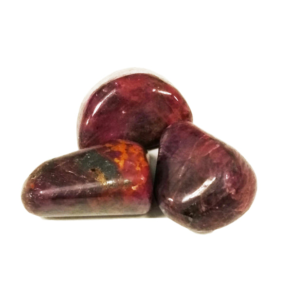 Ruby for stimulating passion & prosperity +energizing