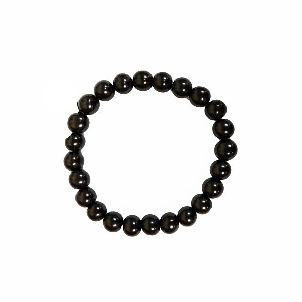 Shungite Stretch Bracelet for good health