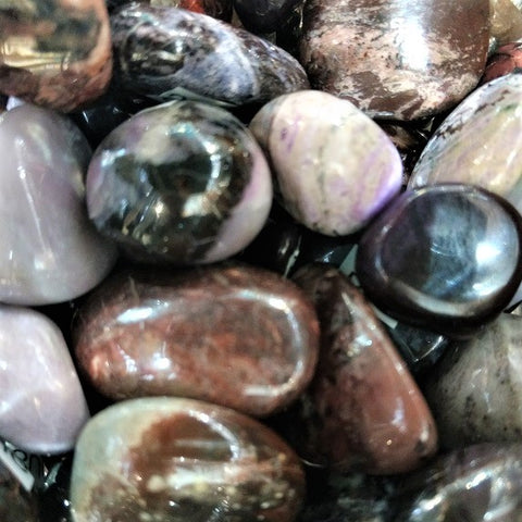 Sugilite for divine love, opening the crown chakra