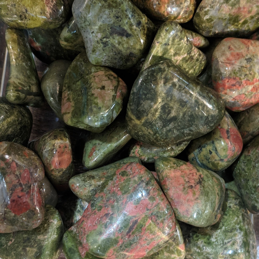 Unakite for kindness, fertility, patience, health - Body Mind & Soul