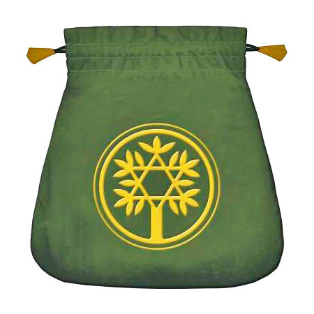 Velvet Celtic Tree Pouch