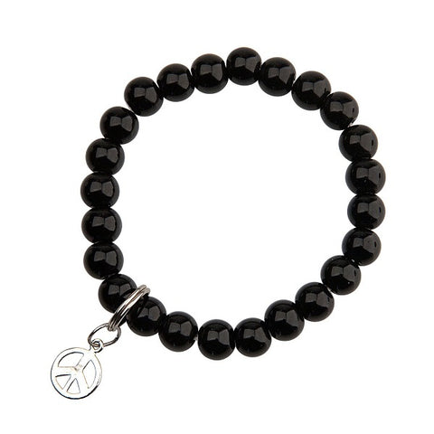 Onyx Bracelet for Peace and Success