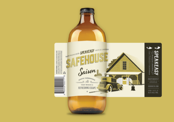 Safehouse Saison - 12x500mL bottle case
