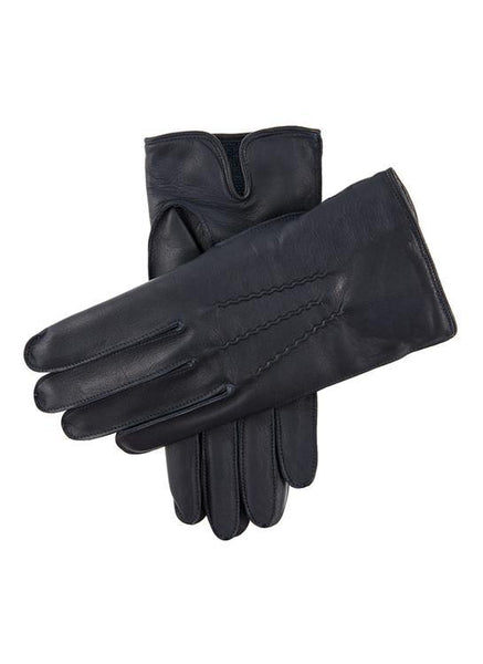 Men's Camel Hair Lined Leather Gloves