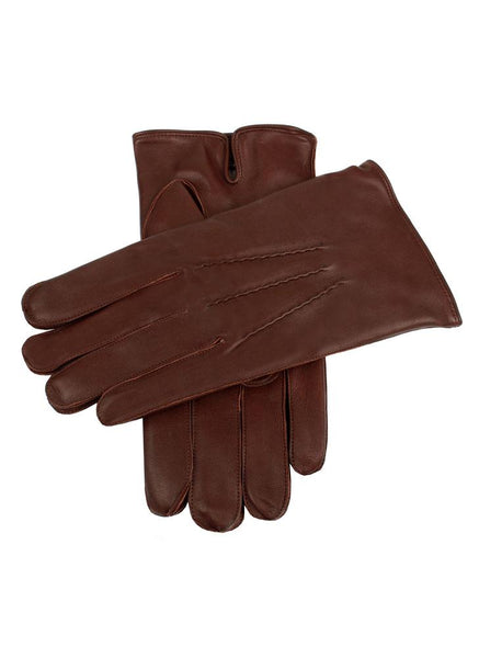 Men's Cashmere Lined Leather Gloves