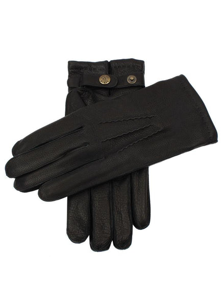 Men's Lambswool Lined Deerskin Leather Gloves