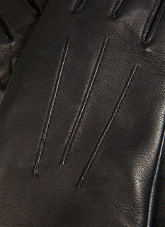 Women's Cashmere Lined Touchscreen Leather Gloves