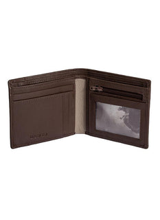 Soft Leather Billfold Wallet with RFID Blocking Protection