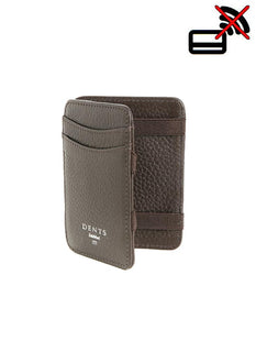 Pebble Grain Leather Magic Wallet with RFID Blocking Technology