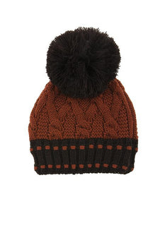 Women's Chunky Cable Knit Hat