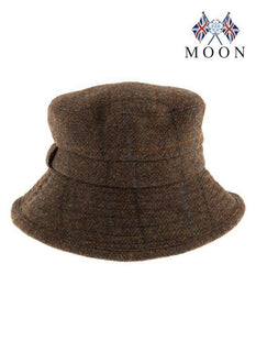 Women's Abraham Moon Herringbone Bucket Hat