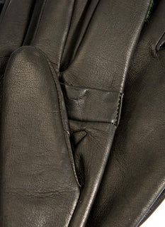 Men's Silk Lined Right Hand Leather Shooting Gloves