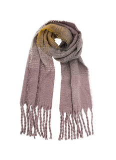 Women's Striped Blanket Scarf