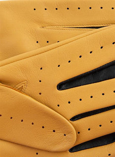 The Suited Racer x Dents Two Colour Leather Driving Gloves