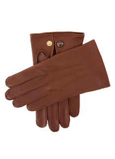 Men's Unlined Leather Officers Gloves