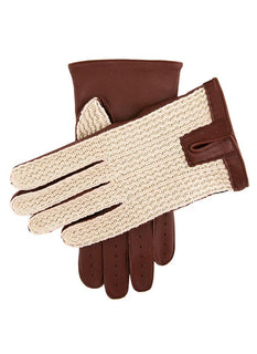 Men's Classic Crochet Back Driving Gloves