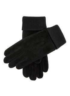 Men's Fleece Lined Suede Gloves